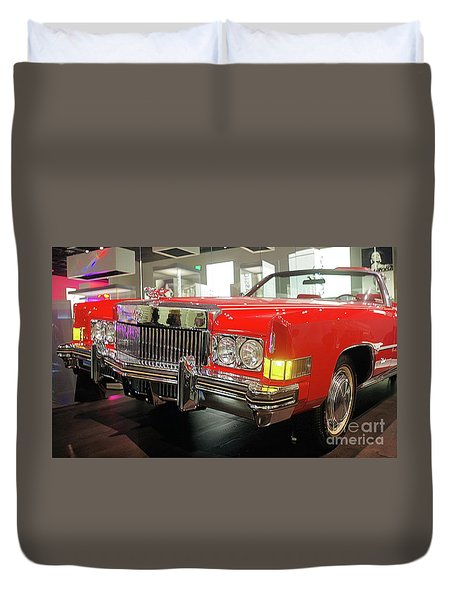 Chuck Berrys Cadillac Duvet Cover