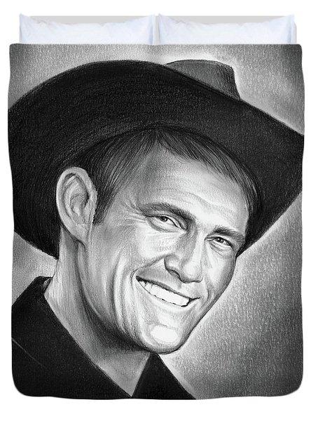 Chuck Connors Duvet Cover