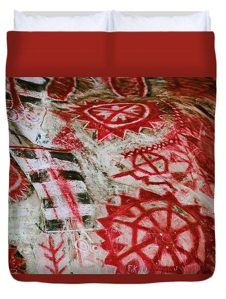 Chumash Painted Cave State Historic Park Duvet Cover