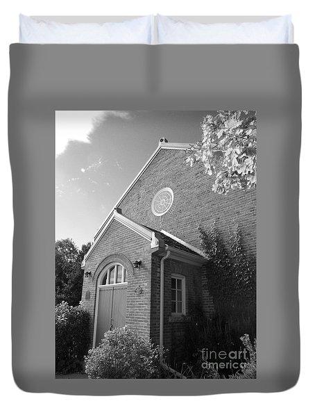 Church At Leith Duvet Cover
