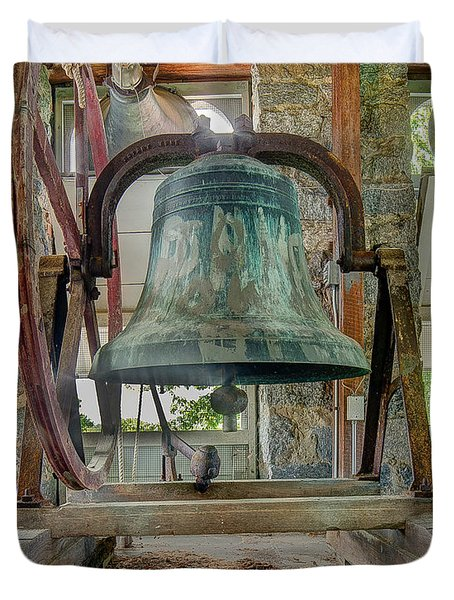 Church Bell 1783 Duvet Cover