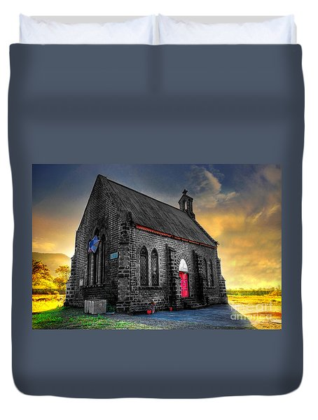 Church Duvet Cover by Charuhas Images