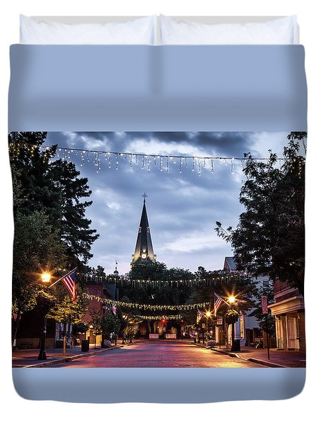 Church Circle Duvet Cover