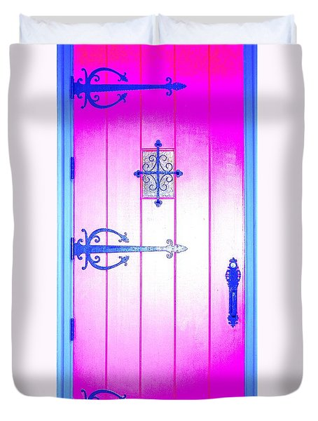 Church Door Duvet Cover
