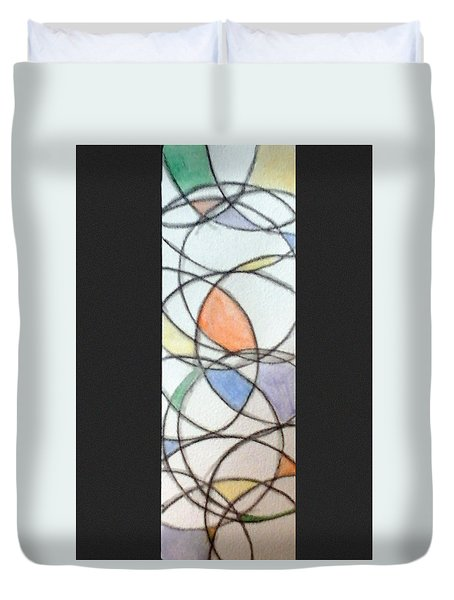 Church Glass Duvet Cover