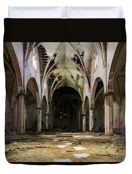 Church In Color Duvet Cover