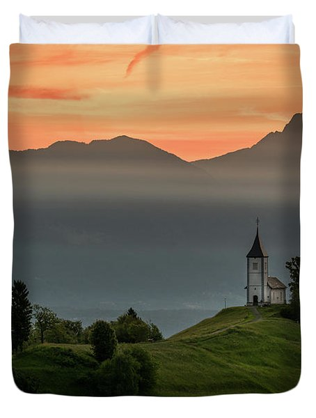 Church Jamnik Duvet Cover