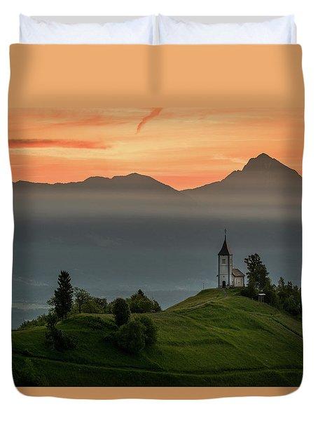Church Jamnik Duvet Cover