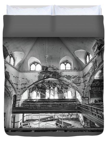 Church Murals Duvet Cover