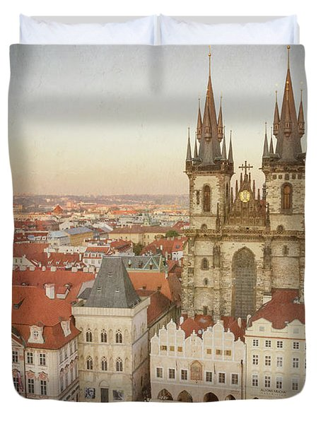 Church Of Our Lady Before Tyn Duvet Cover