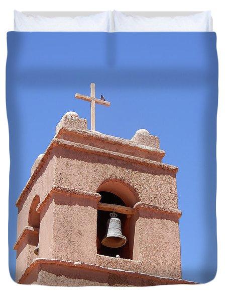 Church Of Socaire Duvet Cover