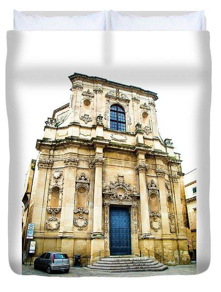 Church Of St Chiari Duvet Cover