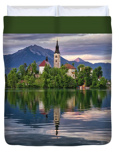 Church Of The Assumption. Duvet Cover