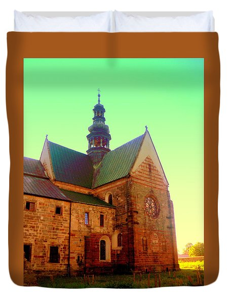 Church Of The Blessed Virgin Mary And St. Florian In The Wachock Duvet Cover