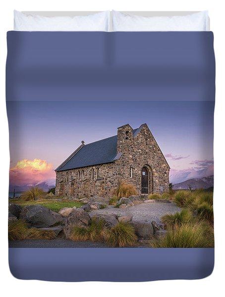 Church Of The Good Shepherd Duvet Cover