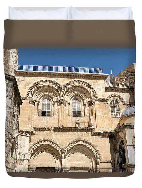 Church Of The Holy Sepulchre Duvet Cover