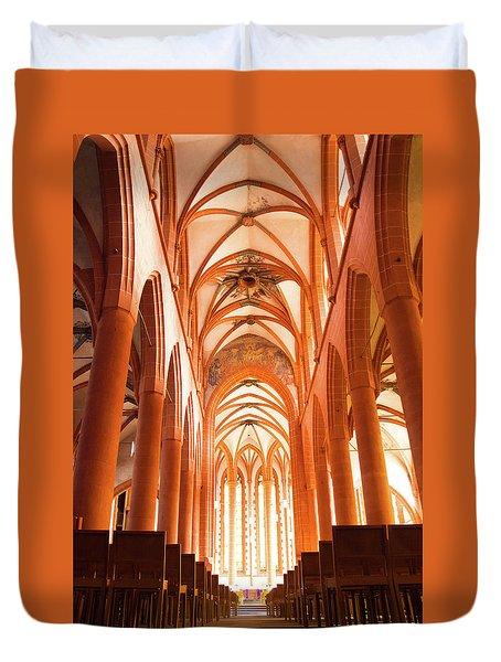 Church Of The Holy Spirit Duvet Cover