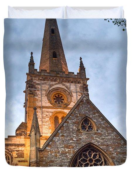 Church Of The Holy Trinity Stratford Upon Avon 2 Duvet Cover by Douglas Barnett