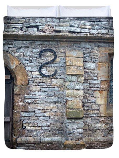 Church Of The Holy Trinity Stratford Upon Avon 5 Duvet Cover by Douglas Barnett