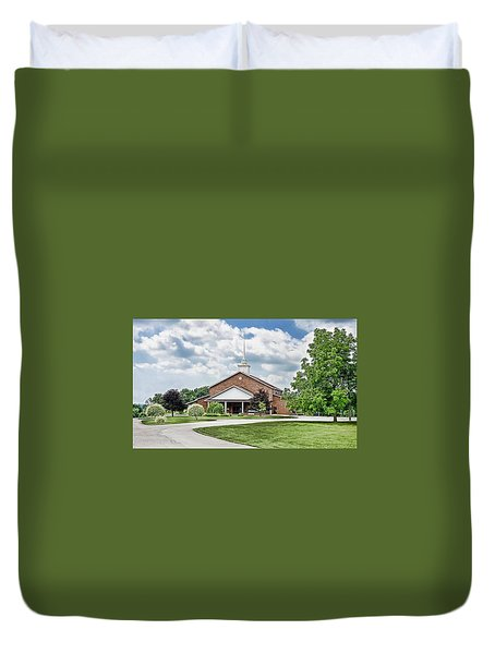 Church On Coldwater Duvet Cover