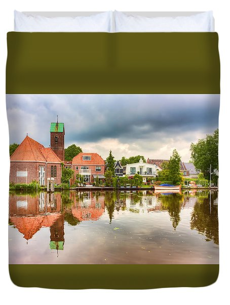 Church Reflections Duvet Cover