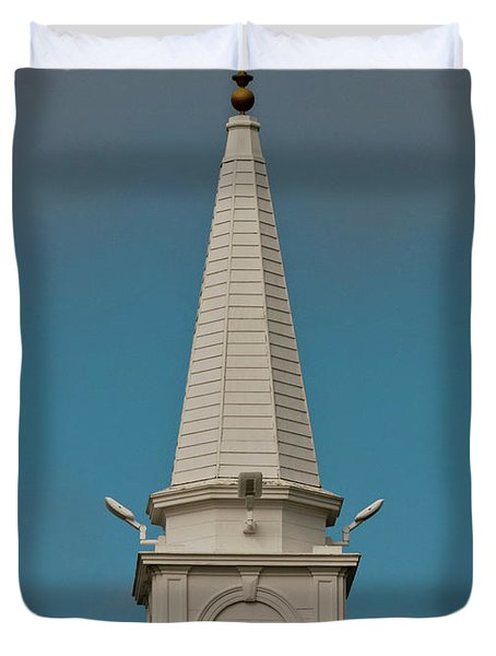Church Steeple Duvet Cover