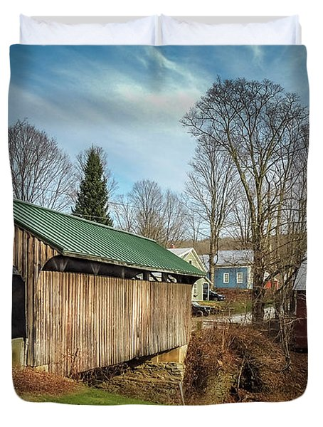 Church Street Bridge Duvet Cover