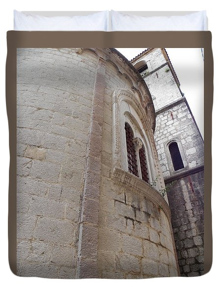Church Tower Duvet Cover