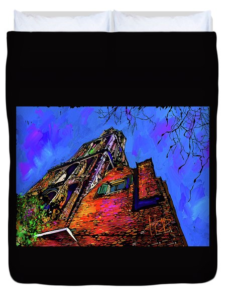 Church, Utrecht, Netherlands Duvet Cover by DC Langer