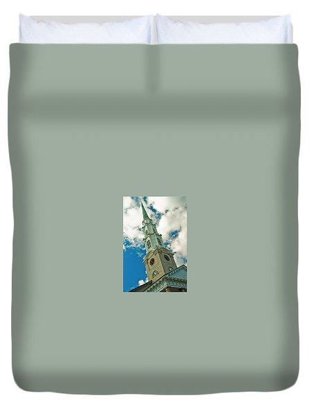 Churche Steeple Duvet Cover