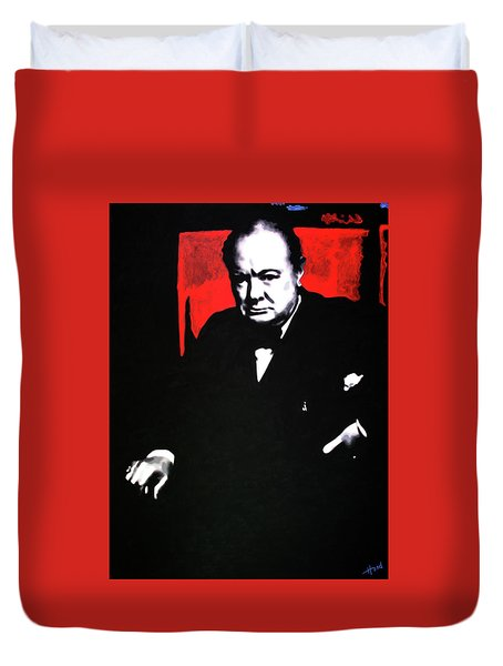 Churchill Duvet Cover