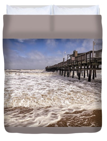 Churn Duvet Cover by David Cote