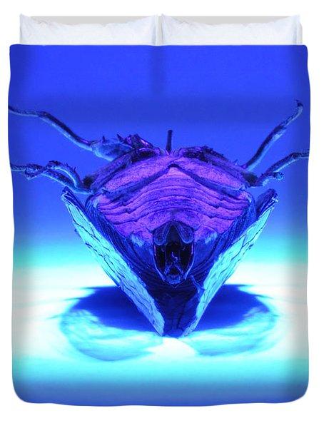 Cicada In Uv Duvet Cover