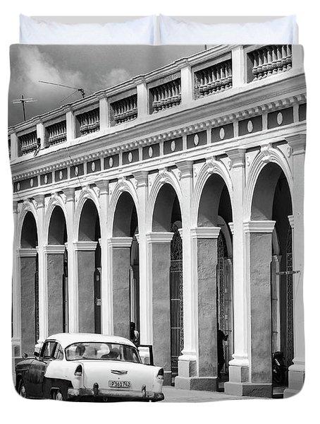 Cienfuegos, Cuba Duvet Cover
