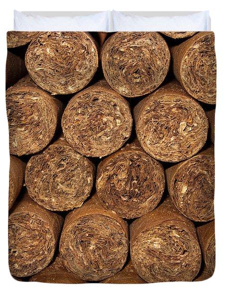 Cigars 262 Duvet Cover