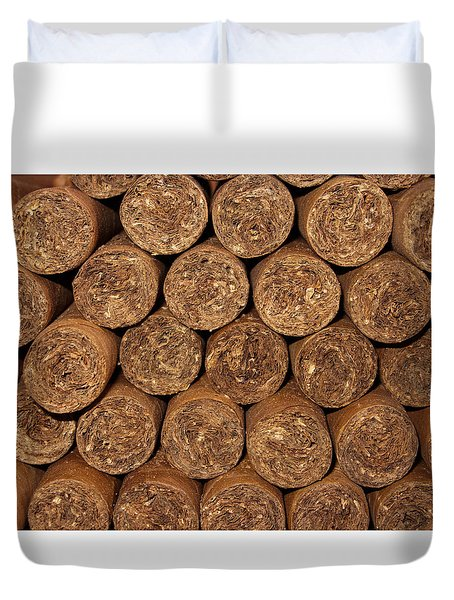 Cigars 262 Duvet Cover