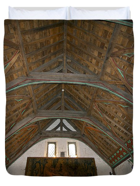 Ceiling In Hall Of Vicars Choral At Rock Of Cashel Duvet Cover