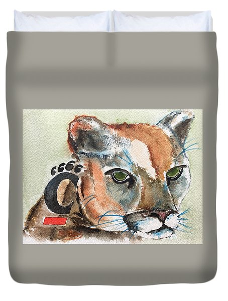 Cincinnati Bearcats Duvet Cover