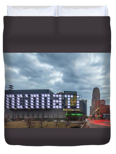 Cincinnati Signs Duvet Cover