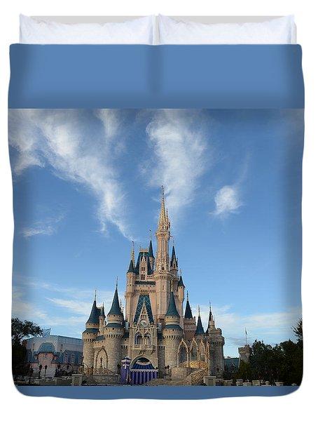 Cinderella Castle 2 Duvet Cover