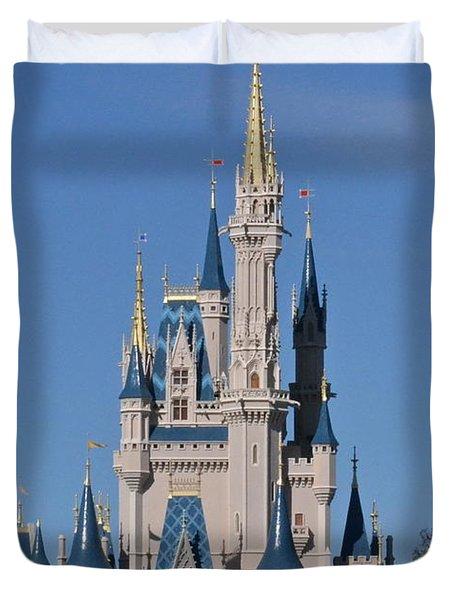 Cinderella's Castle Duvet Cover
