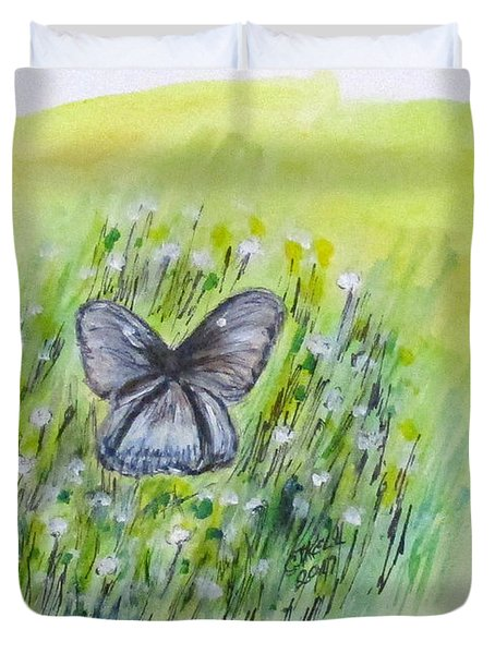 Cindy's Butterfly Duvet Cover