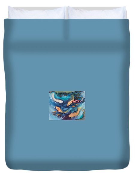 Cindy's Treasures Duvet Cover by Bonnie Rabert
