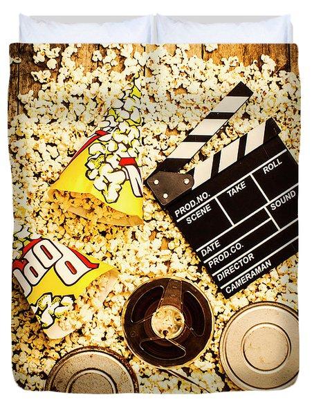 Cinema Of Entertainment Duvet Cover