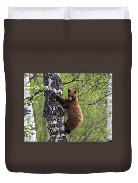 Cinnamon Climb Duvet Cover