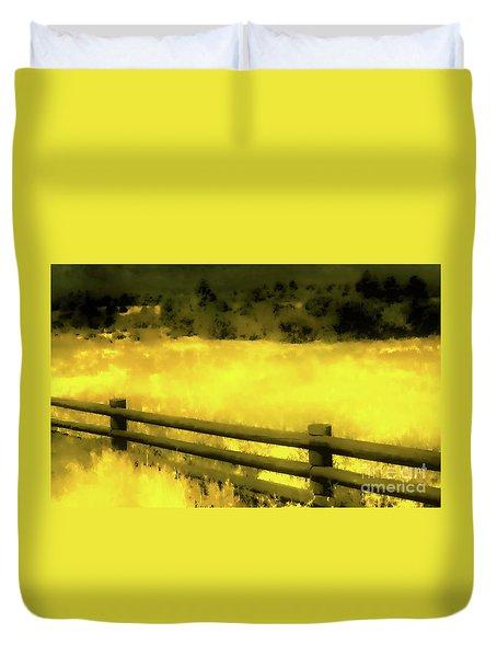 Ciquique Pueblo Meadow 2 Duvet Cover