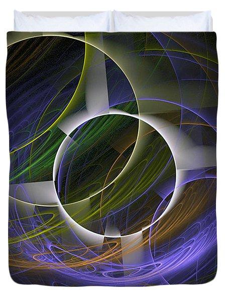 Circle Math Duvet Cover