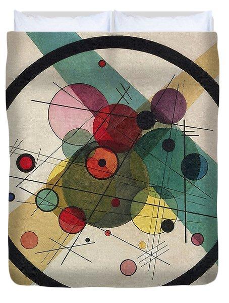 Circles In A Circle Duvet Cover