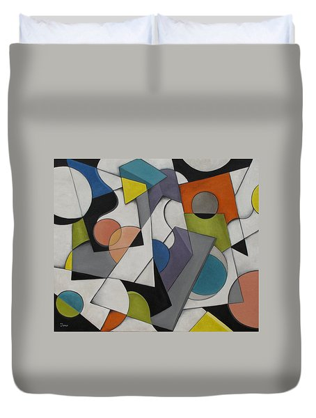 Circles Of Life Duvet Cover