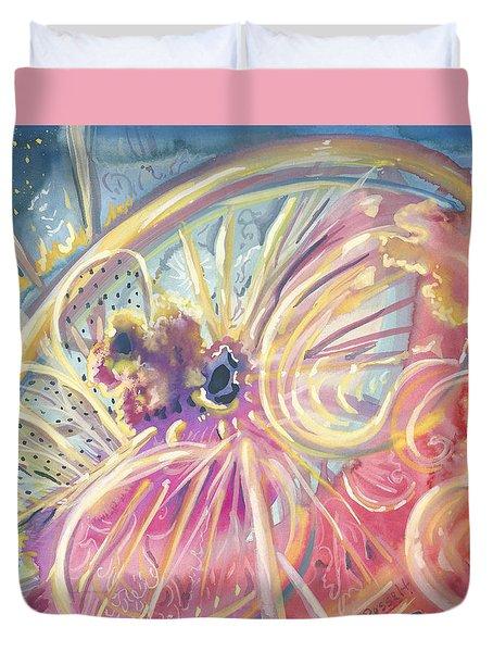 Circlewheel Of Life Duvet Cover